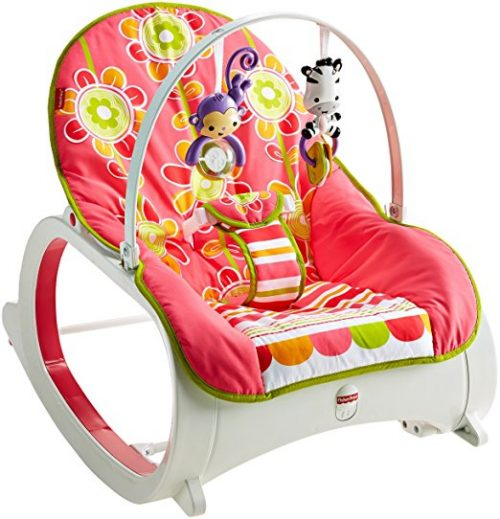 Infant-to-Toddler Rocker, Floral Confetti by Fisher-Price