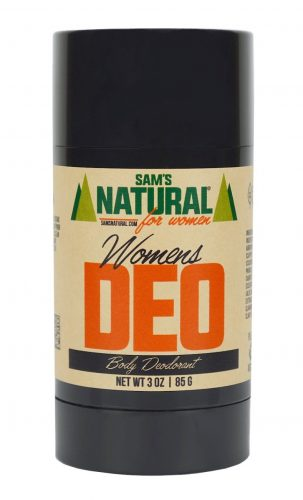 Sam's Natural Deodorant Stick - Women's Vegan