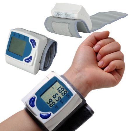 Accurate Pinpoint Heart Rate Blood Pressure Monitor