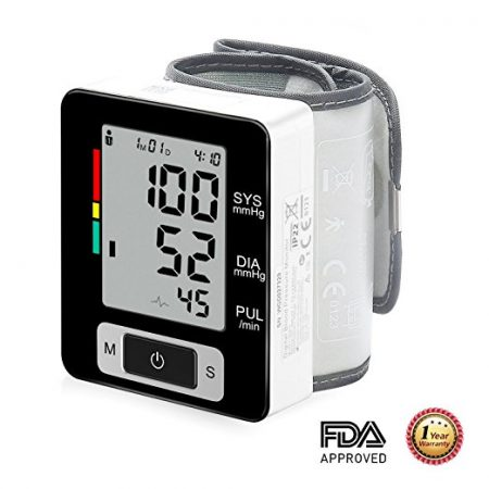 BESANTEK Wrist BP Monitor - Wrist Blood Pressure Monitors