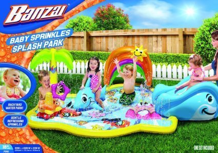 Banzi Baby Sprinkles Splish Splash pool
