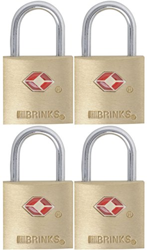 Brinks 161-20471 Lock, 4-Pack