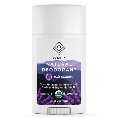 Natural Deodorant Botanik for Women Wild Lavender - Organic