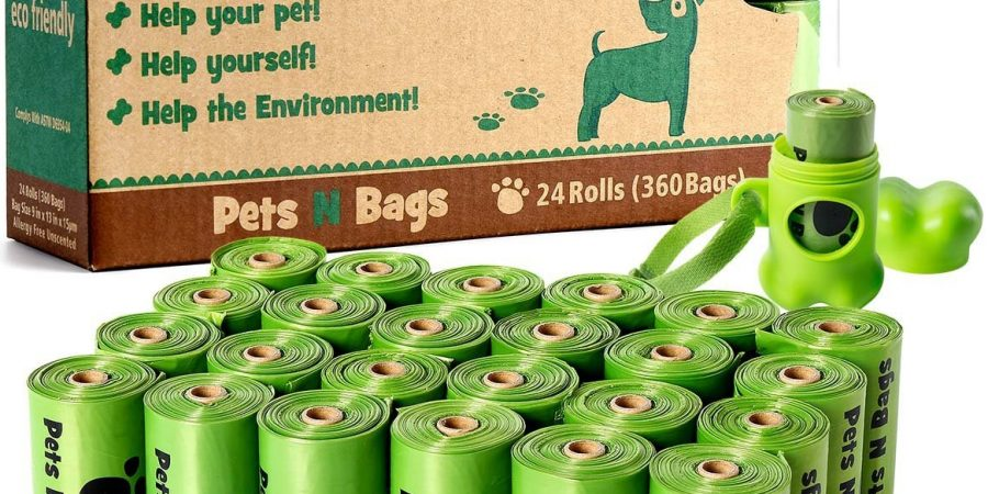 Dog Poop Bags, Pets N Bags Eco-Friendly Dog Waste Bags and Refill Rolls
