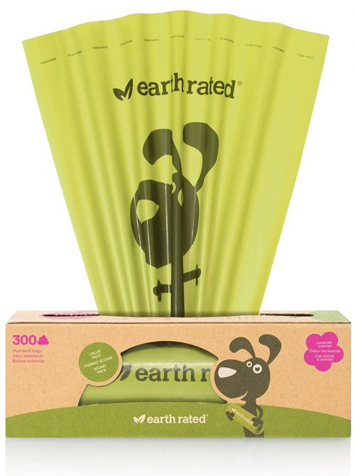 Earth Rated Dog's Poop Bags on a Single Roll for Pantries
