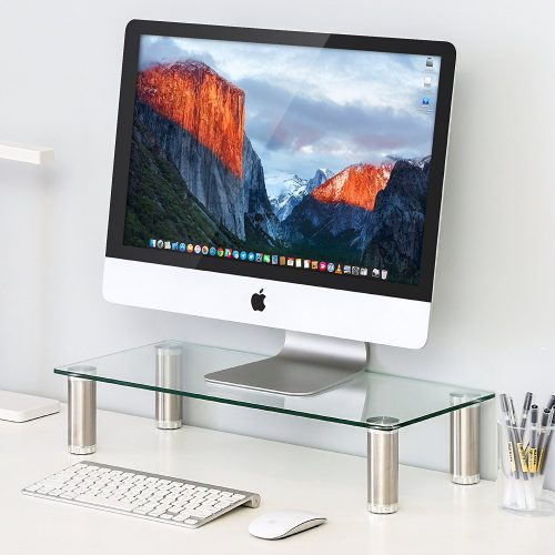 FITUEYES Clear Computer Stand - DT105501GC