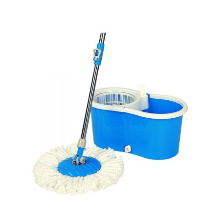 Hapinnex Easy Spin 360° Press Mop Bucket Set
