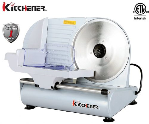 Kitchener 9-inch Professional Electric Meat Food Slicer