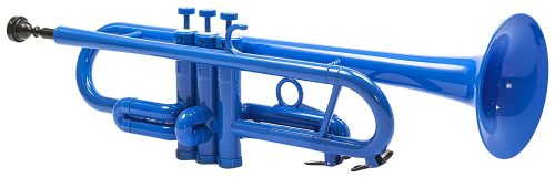 Tromba Plastic Trumpet, color Blue