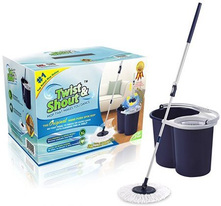 Twist and Shout Mop - The Original Hand Push Spin Mop