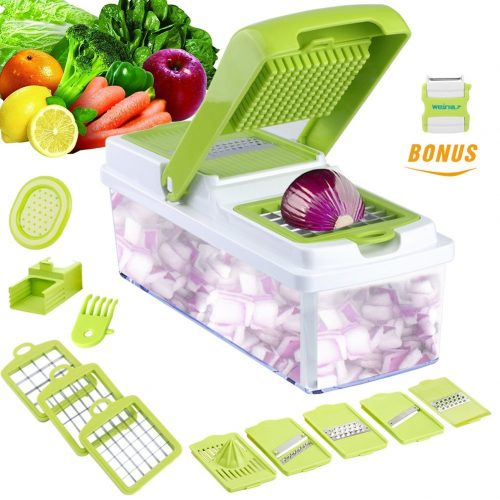 Vegetable Slicer Dicer WEINAS Food Chopper Cuber Cutter