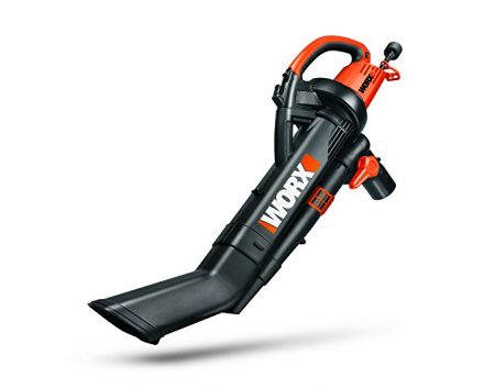 WORX presents WG509 TRIVAC Powerful Leaf Blower/ Vac/ Mulcher 210 MPH and collection bag