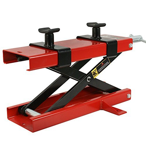 ZENY Motorcycle Center Scissor Lift Jack