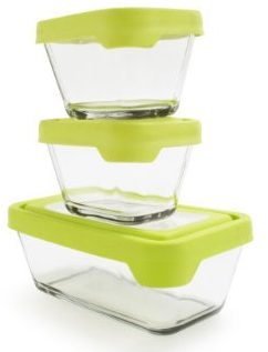 Anchor Hocking TrueSeal Glass Food Storage Containers with Lids