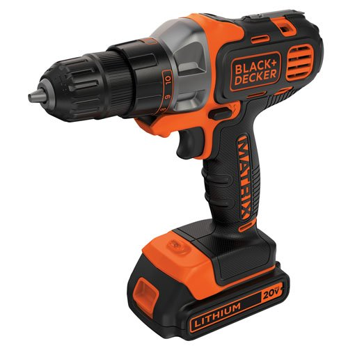 BLACK+DECKER BDCDMT120C 20-Volt MAX Lithium-Ion Matrix Dril
