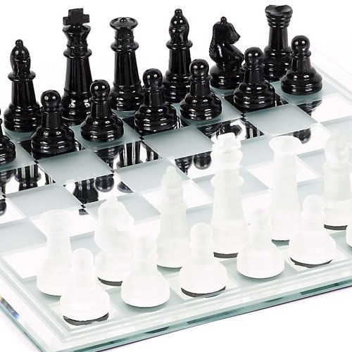 Bello Games New York, Inc. Canal Street Glass Chess Set