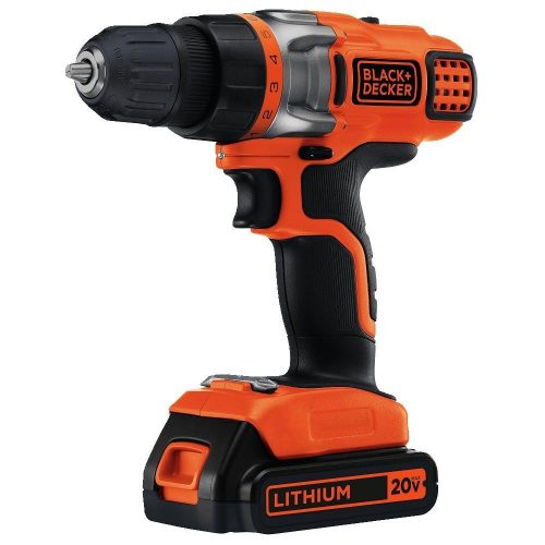 Black & Decker LDX220C 20V MAX Lithium 2 Speed Drill/Driver - Cordless Drills