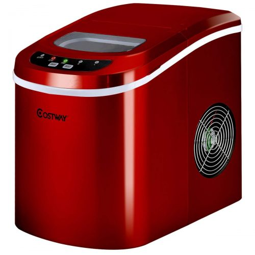 Costway Portable Compact Electric Ice Maker Machine Counter Top