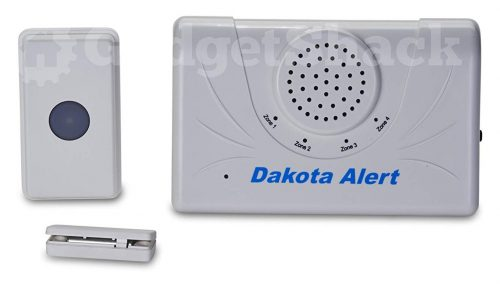 Dakota Alert 2500 Ft. Wireless Doorbell Set