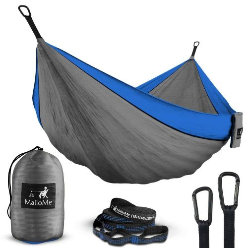 Double Portable Camping Hammock & Straps