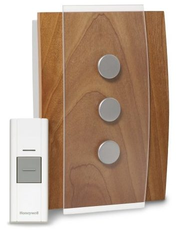 Honeywell RCWL3503A1000/N Decor Wireless Doorbell/Door Chime and Push Button