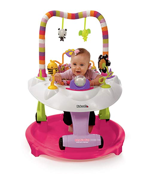Kolcraft Baby Sit and Step 2-in-1 Activity Center