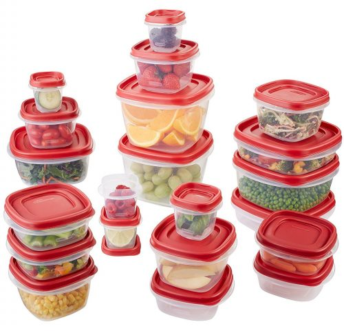 Rubbermaid Easy Find Lids 42-Piece Food Storage Container Set