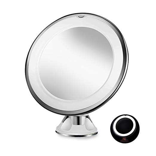 Sayard 10X Magnifying Lighted Vanity Makeup Mirror