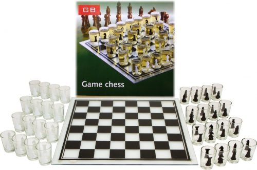 Shot Glass Chess Set Drinking Game
