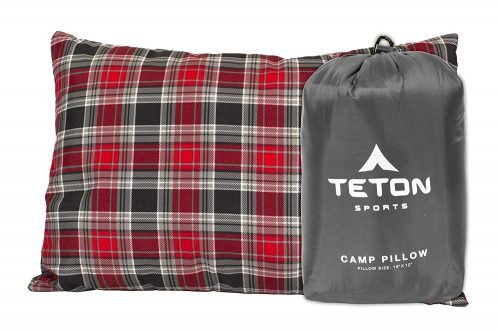 Teton Sports Camp Pillow Perfect for Anytime You
