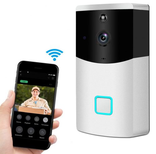 Video Doorbell, SSA wireless Wifi Security Camera Wide