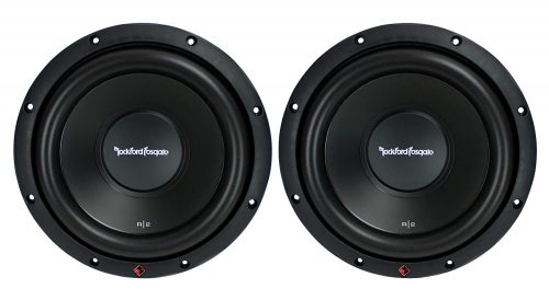"2) New ROCKFORD FOSGATE R2D2-10 1000W 10"" 2-Ohm Car Audio Subwoofers Subs R2D210"
