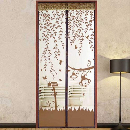 Anshinto Summer Prevent Mosquito Curtain Portiere Screen Door Magnetic Magnet Scenery