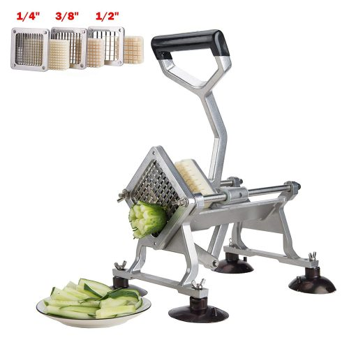 CO-Z Commercial Grade Aluminum Alloy Heavy Duty French Fry Cutter