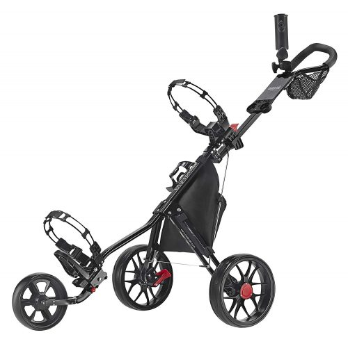 CaddyTek Deluxe 3 Wheel Golf Push Cart Version 3