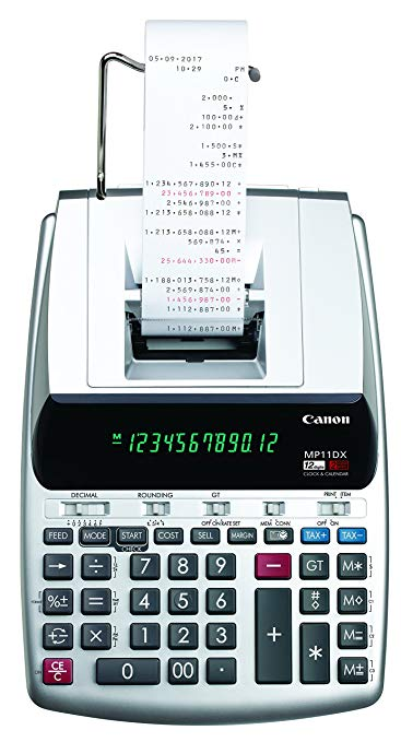 Canon Office Products 2198C001 Canon MP11DX-2 Desktop Printing Calculator