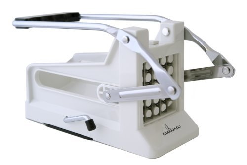 Culina French Fry Potato Cutter with Round Bottom for Easy Slicing
