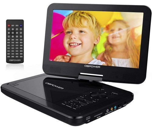 "DBPOWER 10.5"" Portable DVD Player"