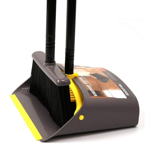 Dust Pan and Broom/Dustpan Cleans Broom Combo