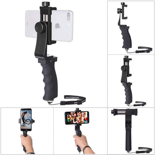 Fantaseal iPhone Cell Phone Hand Grip Holder, Smartphone Handle Stabilizer Phone Holder