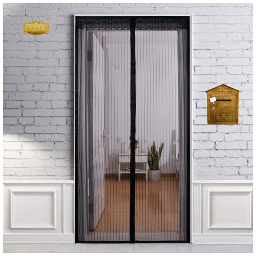 Heeku Magnetic Screen Door Top to Bottom Ultra Seal Magnets Shut Automatically