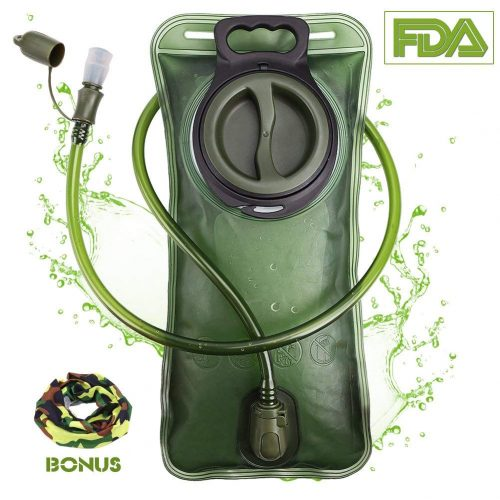 Hydration Bladder 2 Liter Leak Proof Water Reservoir-Hydration packs
