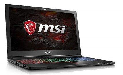 "MSI GS63VR Stealth Pro 4K-228 15.6"" 4K Display Thin"