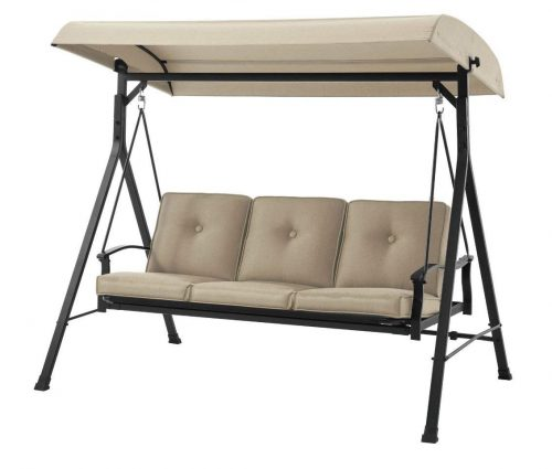 Mainstay* 3 Seat Porch & Patio Swing