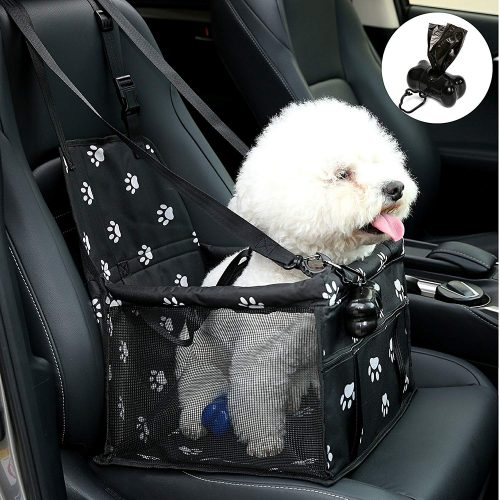 NO Collapse Dog Car Booster Seats Safety Seat Car Seat