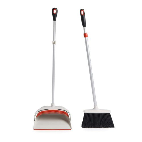 OXO Good Grips Sweep Set with Extendable Broom-Broom And Dustpans