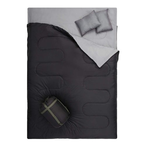 OtdAir Double Sleeping Bag with Pillows