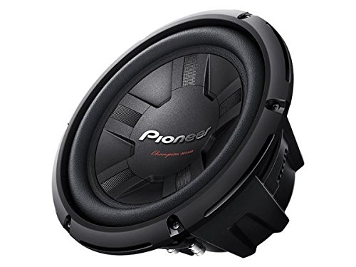 Pioneer TSW261S4 10-Inch Champion/SINGL 4OHM/1200W/4 Equalizer-10-inch Subwoofers