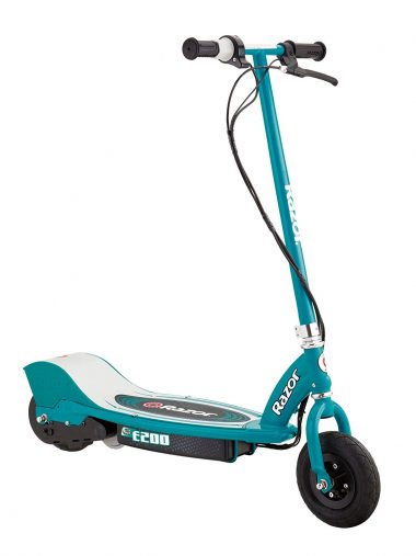 Razor E200 Electric Scooter - Teal-Electric Scooter For Adults