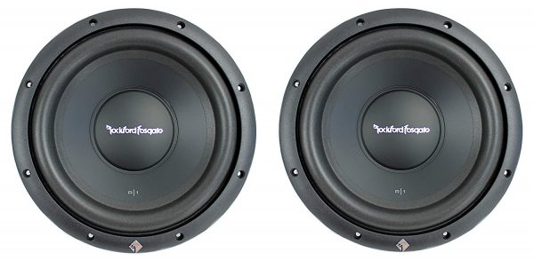 "Rockford Fosgate R1S4-10 Prime 10"" 800 Watt 4 Ohm Car Audio Subwoofers Subs"